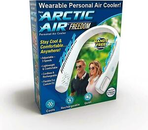 Arctic Air Freedom Personal Portable Neck Fan Air Cooler Purifier Hands Free NEW