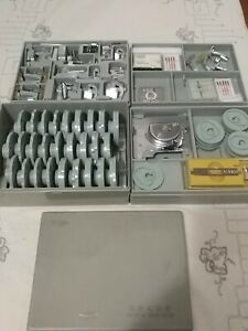 Vtg Sears Kenmore Sewing Machine PatternerAccessories Cams feet Set Kit 4 trays $99.95