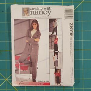 Sewing with Nancy Pattern 2879 15 Pieces Jacket Top Pants amp; Skirt Uncut $9.00