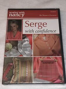 SEWING with NANCY ZIEMAN: Serge with Confidence DVD 2006 SN2001D Rare NEW $10.77
