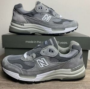 New Balance 992 Gray Grey Size 7 12 Brand New 100% Authentic Free Shipping