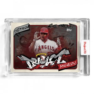 Topps Project 70 Card 302 1974 Mike Trout by SoleFly Presale