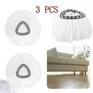 3x Replacement Microfiber Mop Head Easy Clean Wring Refill For O Cedar Spin Mop $9.92