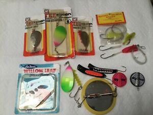 Vintage Luhr Jensen salmon lures amp; assorted items