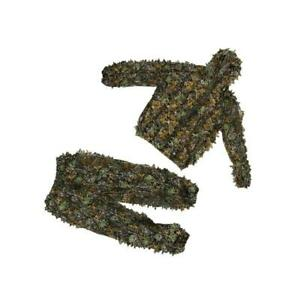 Hunting Ghillie Suit 3D Camo Bionic Leaf Linen Hunting Clothes Camouflage