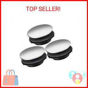 3 Pieces Sink Tap Hole Cover Kitchen Faucet Hole Cover Stainless Steel 1.2 t …