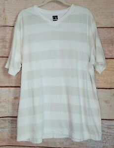 Op SIZE XL White Pull over MENS USED FAIR Striped EUC