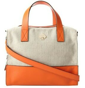 Kate Spade New York Lincoln Square Fabric Little Kennedy Satchel $110.00