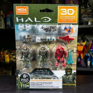 Mega Construx Halo Infinite UNSC Marine Gear Pack NEW SHIPS FAST
