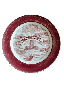Beaumont Texas Collectors Plate