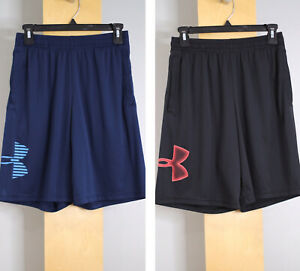 Under Armour Mens Shorts Size Small Blue Black Lot Of 2 G $25.00