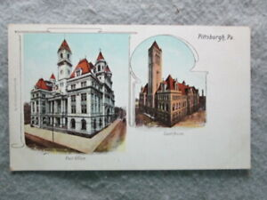 Antique Pittsburgh Pennsylvania Undivided Back Private Mailing Card Postcard $6.75