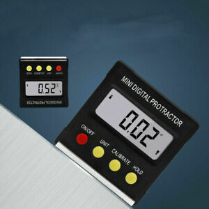 Mini LCD Digital Protractor Level Box Angle Finder Inclinometer Gauge Magnet $15.99