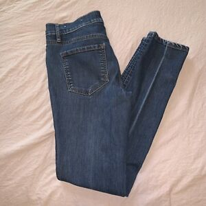 Ann Taylor Made and Loved Loft Straight Woman's Jeans Med Wash 5 Pocket Size 00 $24.99
