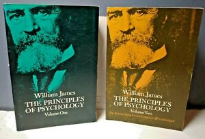 William James The Principles of Psychology in 2 Volumes Dover Paperback VG $14.99