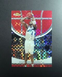 2005 Topps Finest Red Xfractor Refractor #30 Antawn Jamison #ed 139 Near Mint $14.99