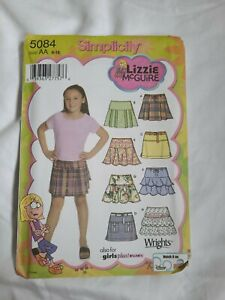 Simplicity #5084 Sewing Girls Design Your Own Mini Skirt Size 8 16 amp; Plus Uncut $6.99