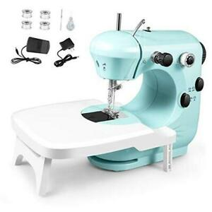 Sewing Machine Portable Multifunctional Electric Sewing Machines mint green $44.98