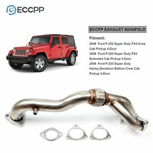 ECCPP Passenger Side Turbocharger Up Pipe For 08 10 6.4L Ford F 350 F450 F 550 $61.44
