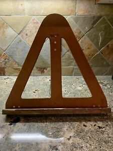 ARTIST EASEL VINTAGE OLD TABLE TOP Wolsey Co Painting Draw Folding Display RARE $25.88
