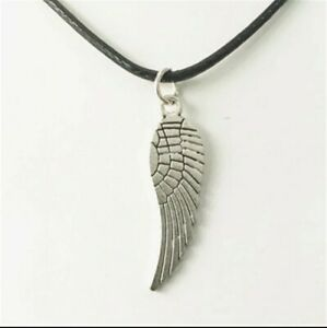Fashion Jewelry Antique Silver Angle Wing Pendant Necklace 87 2 $8.46
