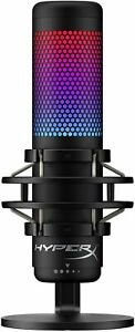 HyperX QuadCast S RGB USB Condenser Microphone for PC PS4 PS5 and Mac Gaming $109.95