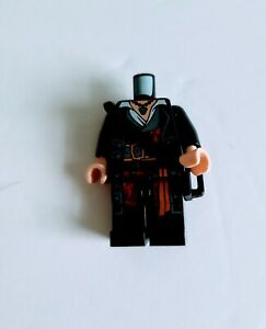 Captin Barbossa Lego Minifigure Pirates Of The Caribbean Body Only Parts $12.95