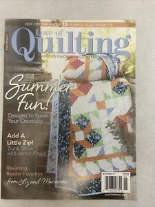 Fons amp; Porter#x27;s LOVE OF QUILTING MAGAZINE May June 2021 Vol. 26 Issue 153 $5.00