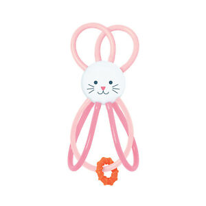 Manhattan Toy Winkel Bunny Rattle and Sensory Teether Baby Toy