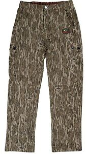 Mossy Oak Tibbee Technical Camo Lightweight Hunting Pants for Men Camouflage L