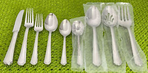 Lenox ARCHWAY Stainless Glossy18 10 Flatware Smart Choice NEW USED 12M $4.95