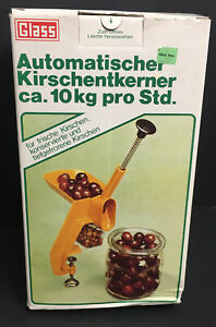 Glass Brand Cherry Pitter Vintage West Germany Remove pits