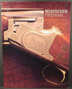 Very Nice Winchester Firearms 1980s 15 Page Brochure $9.75