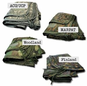 Authentic Military Woobie Poncho Liner 4 Camouflage Patterns Army Marines Vets