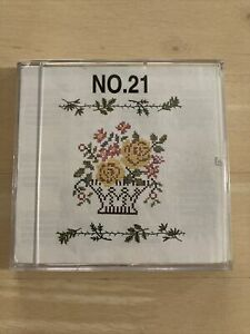 Brother machine embroidery PES memory card #21 flowers alphabetkitchenetc $49.99
