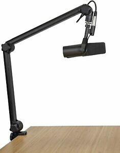 Open Box Gator Deluxe Desk Mounted Broadcast Microphone Boom Stand $99.99