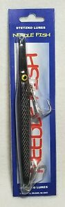 Tony Stetzko Med Needlefish Black Scale Saltwater Lure 1.75 oz New In Package