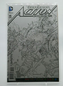 Action Comics #48 Adult Coloring Book Variant Cover DC Comics FN VF Free Ship $9.59