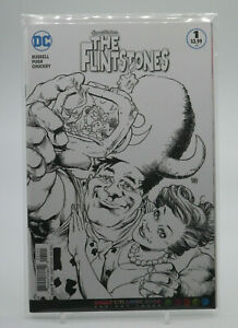 The Flintstones #1 Adult Coloring Book Variant 2016 DC Comics VF Free Shipping $10.50