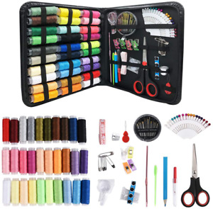 Sewing Kits for Adults Beginners: 72 112 136 226 PCS Basic Hand Sewing Kit $23.45