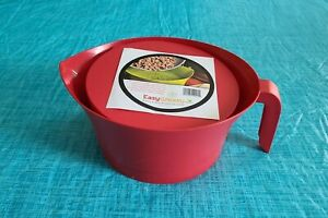 Easy Greasy Strain Save Kitchen Colander Red Bacon Grease