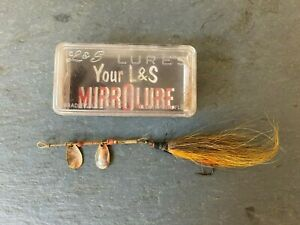 VINTAGE Lamp;S Bait Company MIRROLURE Fishing Spinner MM21