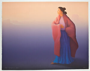 R C Gorman signed and numbered lithograph 58 225 Original lithograph $900.00