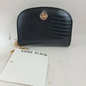 Anne Klein Faux Leather Curved Card Case .. New $13.60