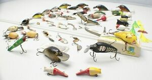 Vintage Fishing Lure Lot Beaters Heddon Paw Paw ARBO Gaster for Use amp; Restore