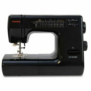 Janome HD5000 Black Edition Heavy Duty Sewing Machine with Warranty and Bonus $469.00