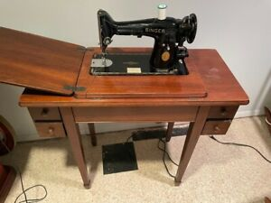 Singer Sewing Machine Sewing Table working model $180.00