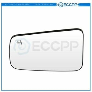 ECCPP For 2008 2011 Ford FOCUS Chrome Flat Mirror Glass Driver Left Side Heated $17.99