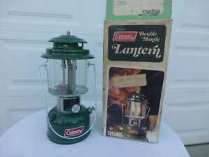 NEW UNFIRED Coleman Lantern 220J with box dated May of 1977 5 77