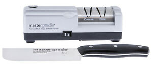 MASTER GRADE Premium Electric Knife Sharpener With Japanese knife